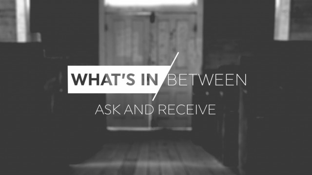 What's in between ask and receive