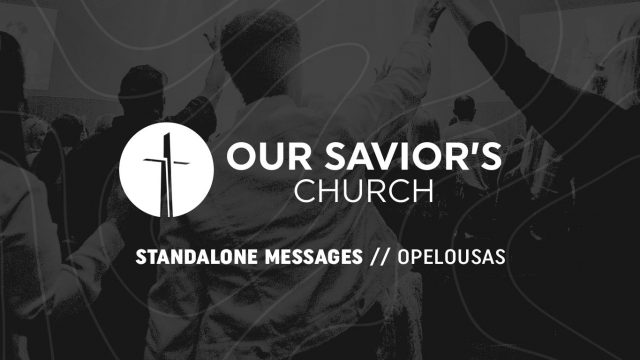 Standalone Messages 2021 - Opelousas